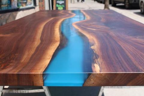 River table with Translux